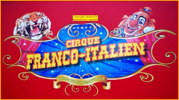 Le 28 Décembre 2017 : Le cirque italien